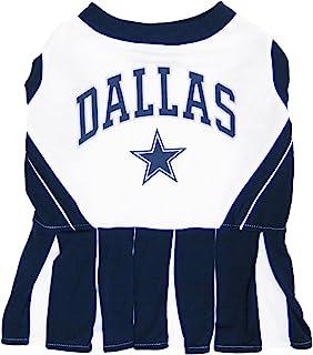Pets First NFL Dallas Cowboys Dog Cheerleader, Small
