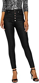 Women's Lorelle Coated Super High-Rise Skinny Jeans