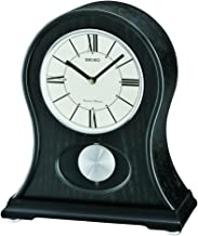 Seiko Distressed, Black Rounded Chime Mantel Clock