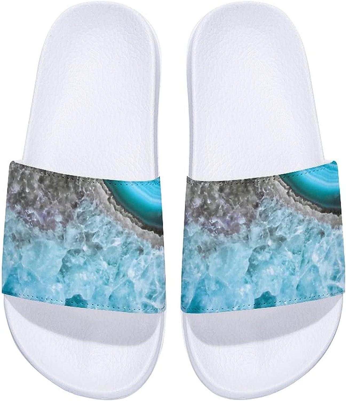 Mermaid Agate Men's and Women's Regular discount Indoor Out Comfort Super sale Slide Sandals