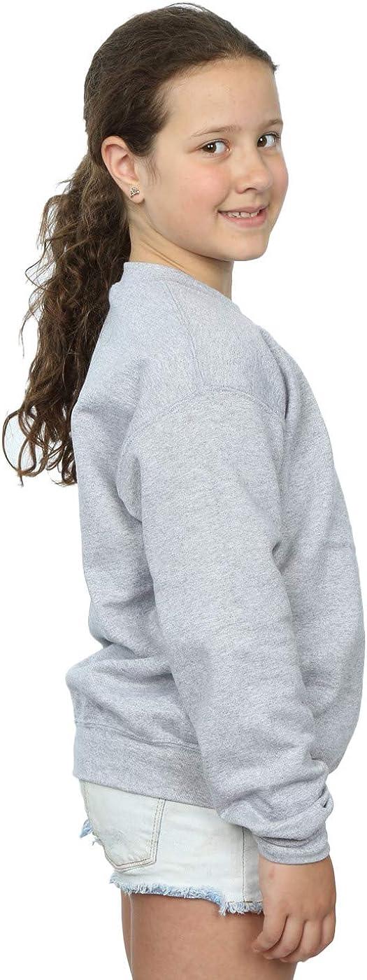 Disney Girls Donald Angry Angry Sweatshirt