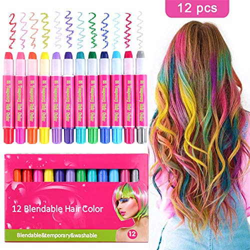 Hair Chalk Color Set for Girls K...