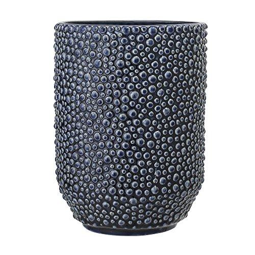 Bloomingville Vase, bleu, Céramique