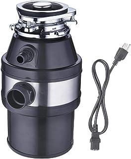 1 HP 1L Home Kitchen Garbage Disposal Compact Disposer 2600 RPM Plug In Machine Permanent Magnet Motor Removable Splash Baffler Aids US Delivery – ZeHuoGe