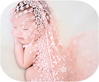 Luxury Newborn Boy Girl Baby Photography Props Wrap Lace Yarn Cloth Blanket