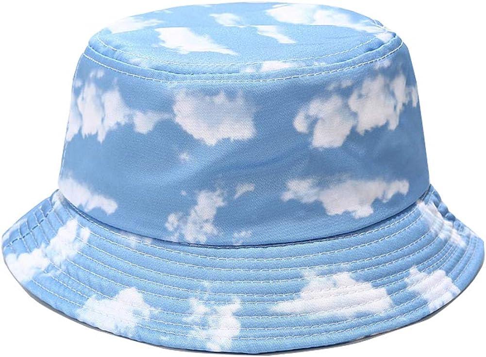 Print Fisherman Sun Cap Unisex - Travel Beach Bucket Hat Outdoor Visor Cap