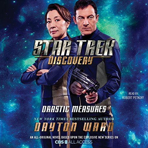 Star Trek: Discovery: Drastic Measures audiobook cover art