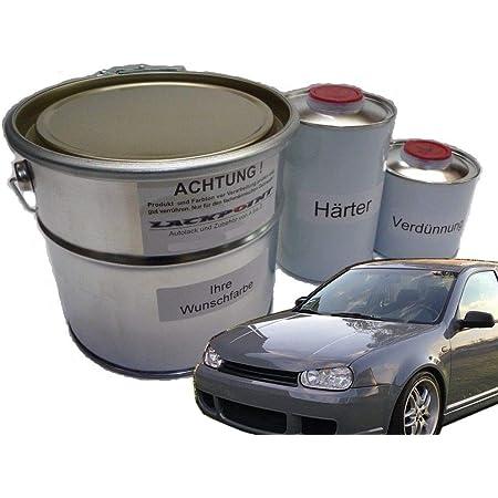 Tristarcolor Autolack Set Dose Spritzfertig Für Audi Ly7c Nardograu Basislack 2k Klarlack 2 5l Auto