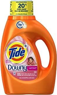 Tide Plus Downy He Turbo Clean 29 Loads Liquid Laundry Detergent, April Fresh Scent