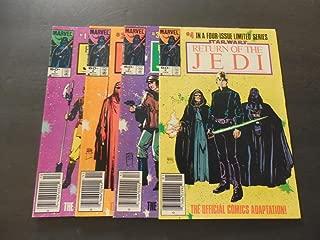 4 Iss Star Wars Return Of The Jedi #1-4 Of 4 Bronze Age Marvel Comics