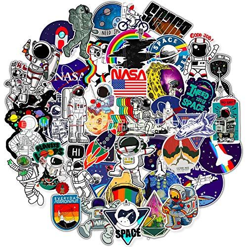Pegatinas de Vinilo,50 piezas de Pegatinas Impermeables para Motocicleta, Bicicleta, Monopatín, Equipaje, Grafiti, Ordenador Portátil Cool Sticker