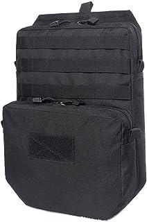 Tactical 3L Mochila de hidratación 1050D Correas Impermeable Molle Bolsa de Agua al Aire Libre, Juego CS Accesorios Chaleco Militar Bolsa de Caza