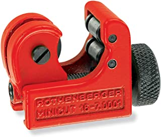 """Rothenberger 70402"""" Mini Cut II Pro Plastic Pipe Cutter, Red, 6-22 mm"""