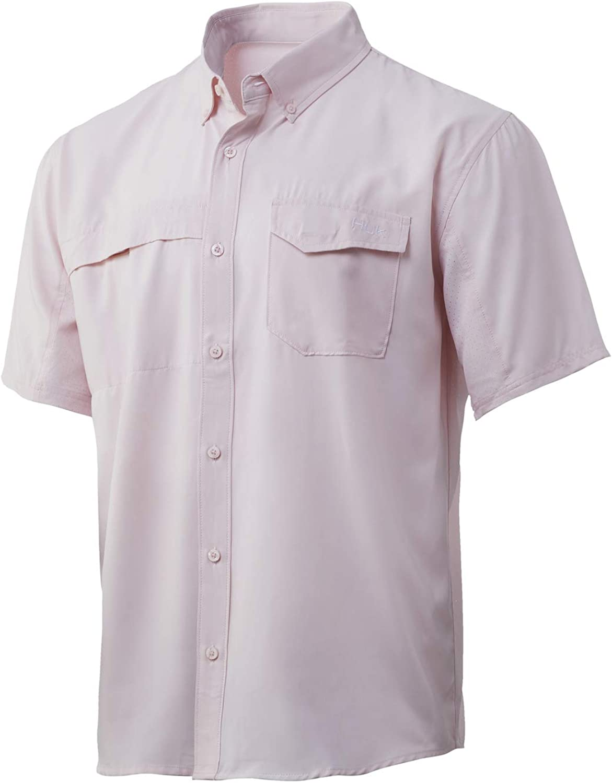 HUK Tide Point Short Sleeve Shirt | Performance Button Down