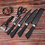 P YU® 6PCS/Set Kitchen Knife Set Professional Chef Sharp Knives Kitchen Fruit Knife