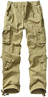 TRGPSG Women's Cargo Pants with Pockets, Outdoor Casual Camo Hiking Pants, Ripstop Construction Work Pants