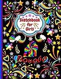 Sketchbook For Girls Bonobo: Cute Bonobo Sketchbook for drawing, Blank Paper for Drawing, Doodling or Sketching Sketchbooks For Kids Girls, Students ...Sketchbook For Girls Who Loves Bonobo