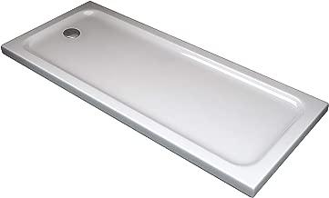 /170/x 70/cm Forte br230001/Box baignoire Free 3/faces r/éductible ouverture centrale blanc h 150/cm 70/x 150/