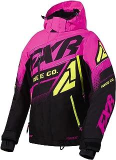 FXR Womens Boost FX Jacket 2020 (Black/Electric Pink/Hi-Vis - Size 6)