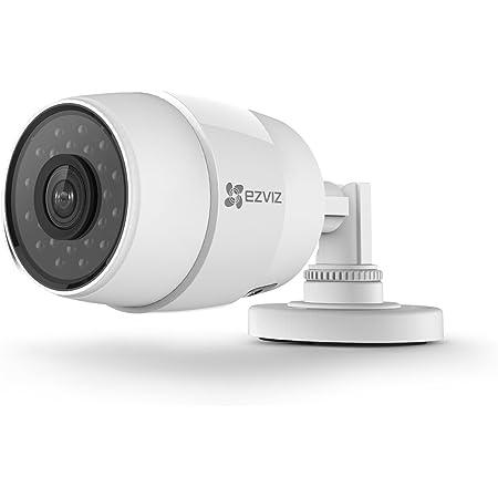 Ezviz C3c Ip Kamera Kompatibel Mit Amazon Alexa 720p Hd Brennweite 2 8mm Wlan 2 4ghz Outdoor Wetterfest Überwachungskameras Bullet Kamera Mit Sd Karten Steckplatz Baumarkt