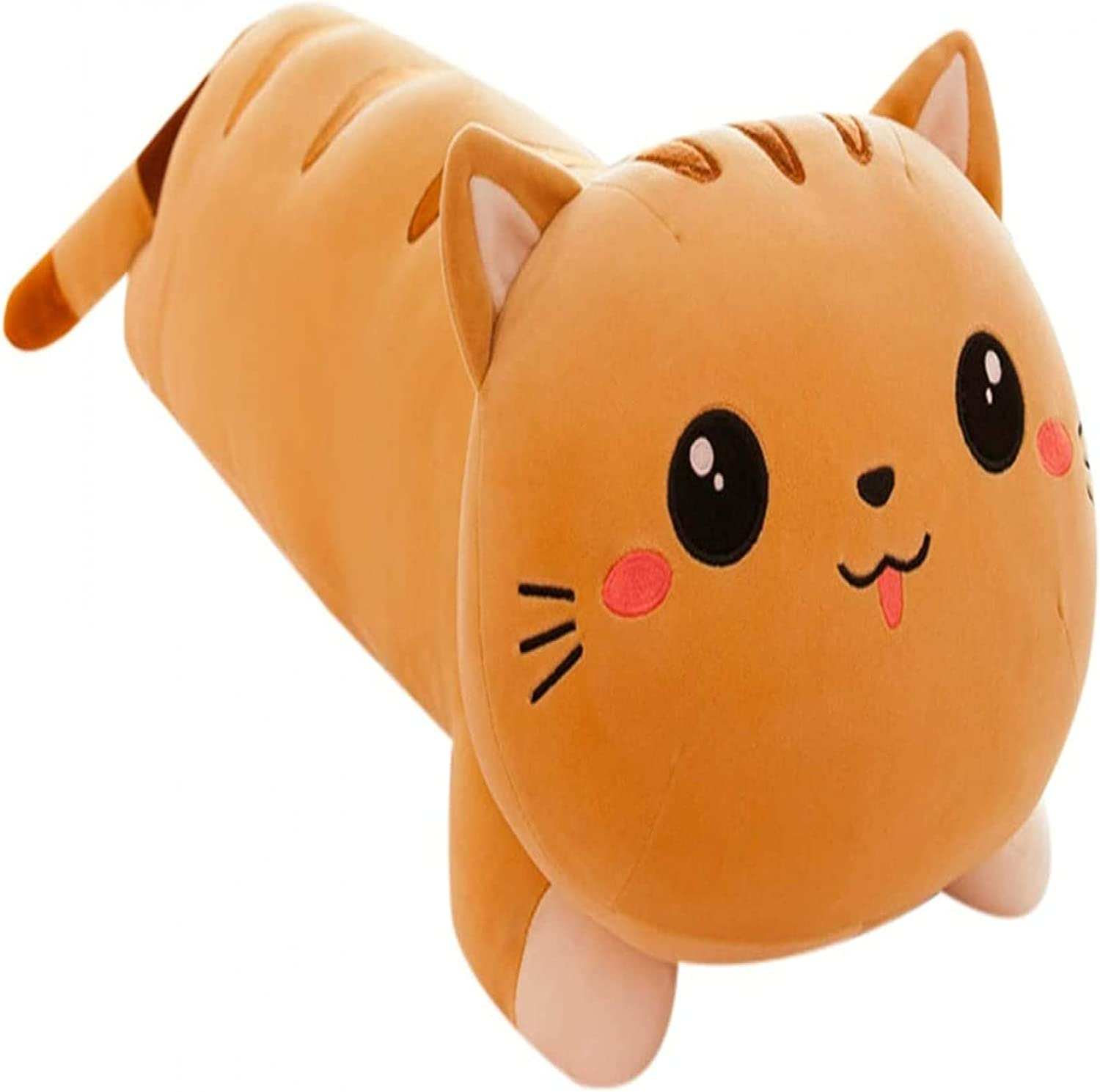 Plush Toys Cute Regular Purchase store 3D cat Shape Stuffing Comfortable and S