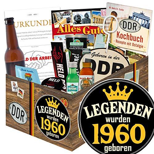 Legenden 1960 / DDR Männer Geschenk / 1960 Geschenk Geburtstag