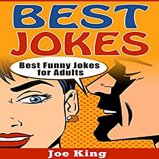Best Jokes: Best Funny Jokes for Adults audiobook cover art