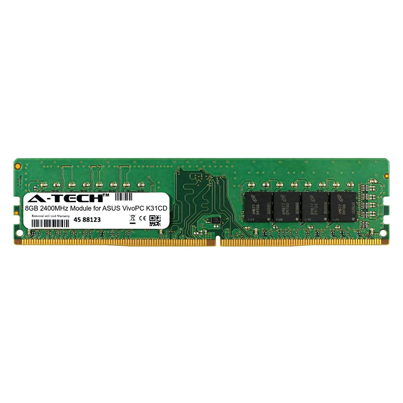 A-Tech 8GB Module for ASUS VivoPC K31CD Desktop & Workstation Motherboard Compatible DDR4 2400Mhz Memory Ram (ATMS360308A25820X1)