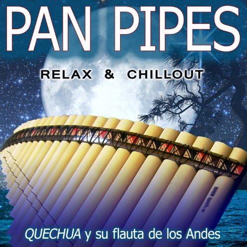 Quechua y su flauta de los Andes