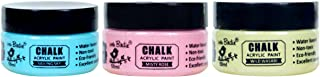 Itsy Bitsy Chalk Acrylic Paint | Great Textured Paint for Your Home Décor & Painting Needs | Sailing Sky | Misty Rose | Wi...