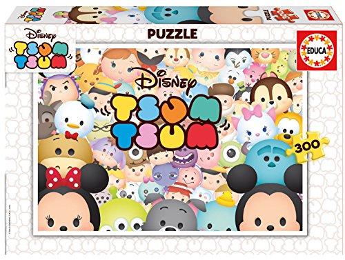Tsum Tsum - Puzzle Color, 38.4 x 25.7 x 4.3 (Educa Borrás 16787)