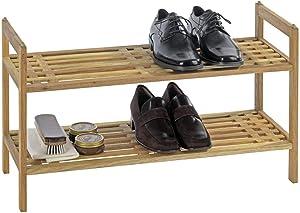 Wenko 18616100 Système d'Étagères Chaussures 2 Étages Norway