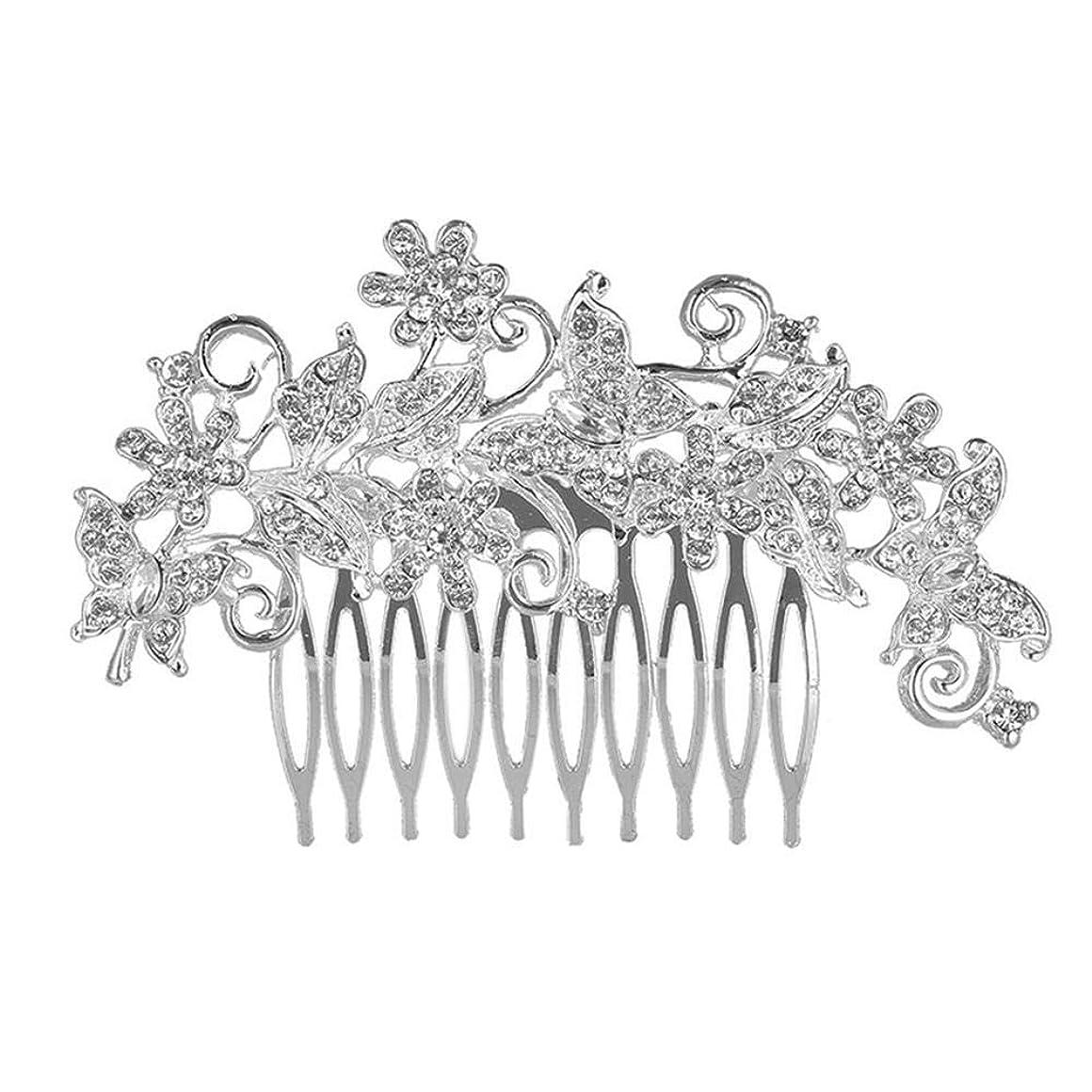 離れてかける郡韓国のヘアアクセサリー_韓国の花嫁のヘアアクセサリー日の花のヘッドドレスファッションヘアコーム花嫁合金結婚式結婚式卸売