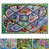Achoka District Road Grip Playmat 75 x 112cm For Toddlers