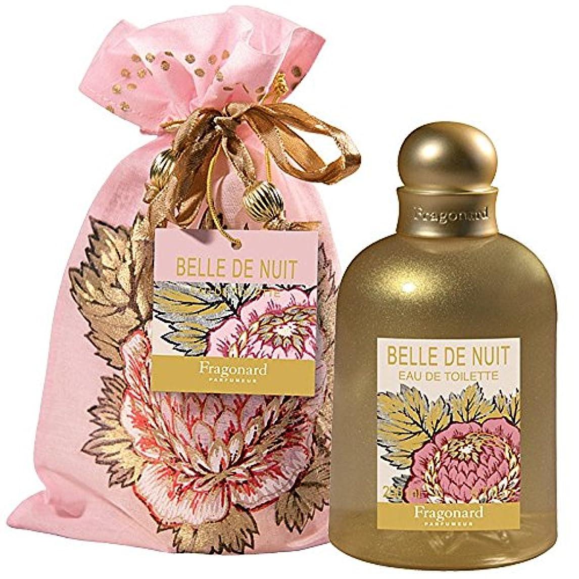 財団耕す土Fragonard Belle de Nuit (フラゴナール ベル デ ニュイ) 6.8 oz (200ml) EDT Spray for Women