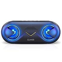 CLAVIER Supersonic 10 Watt 5.0 Channel Wireless Bluetooth Portable Speaker (Black)
