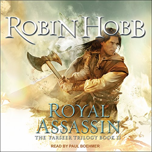 Royal Assassin     The Farseer Trilogy, Book 2              By:                                                                                                                                 Robin Hobb                               Narrated by:                                                                                                                                 Paul Boehmer                      Length: 29 hrs and 17 mins     6,308 ratings     Overall 4.5