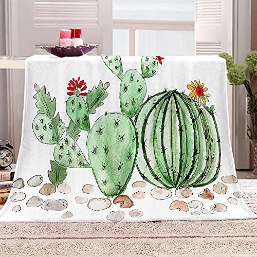 Ejiawj Mantas para Sofa Baratas Cactus Verde 200x220 cm Nueva Gama de...