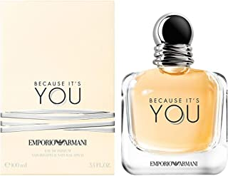 Gorgio Armani Emporio Armani because It's You Eau De Parfum for Women, 3.4 Oz (tester), 3.4 Oz