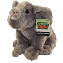 "Animal Den 11"" Elephant Plush"