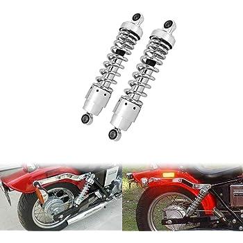 "10.5/"" Chrome Shock Absorber 267mm Fit For Harley Dyna Street Glide Sportster1200"