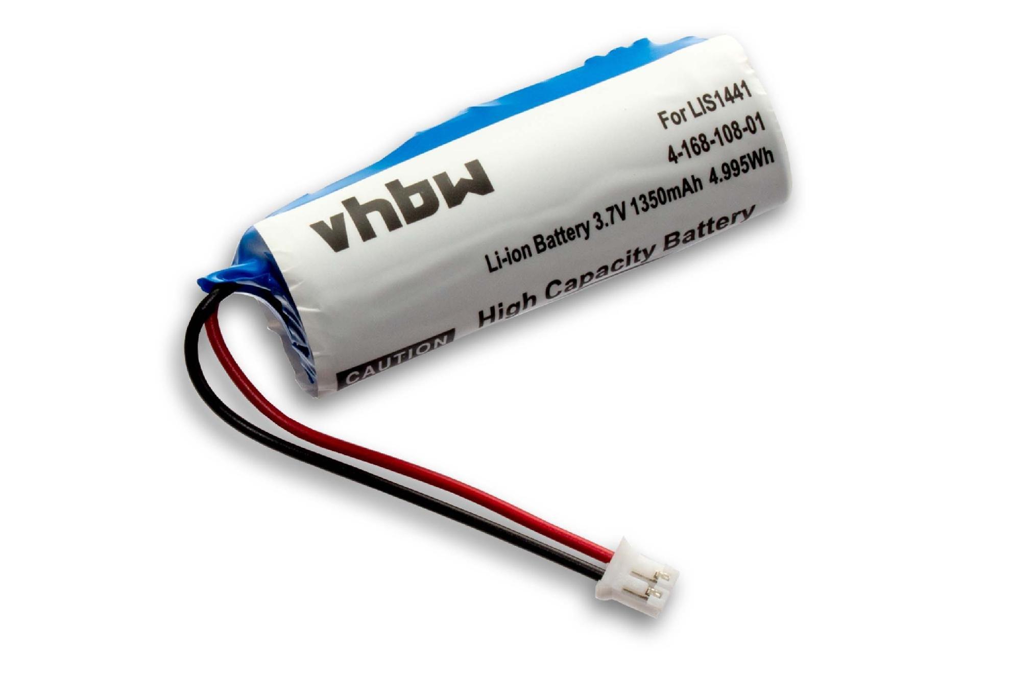 vhbw Batería compatible con Sony Playstation PS3 & PS4 Move Motion mando CECH-ZCM1E reemplaza LIS1441, LIP1450, 4-168-108-1 (Li-Ion, 1350mAh, 3.7V): Amazon.es ...