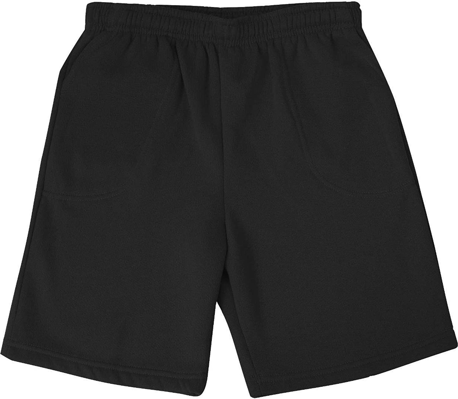 Big and Tall Beefy Fleece Sweat Shorts to 10X Big in Navy, Grey, and Black