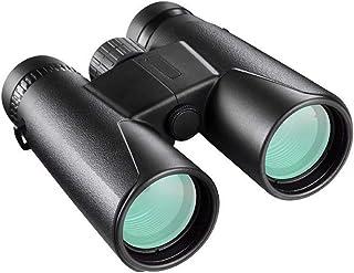 Funnyrunstore Binoculars Black Straight Double Barrel Telescopio de Mano de Alta definición 10 * 42 Binoculars Visión Nocturna al Aire Libre