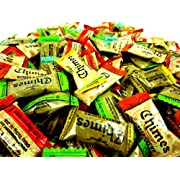 Chimes Ginger Chews Variety Pack - Original, Orange, Mango, Peppermint and Peanut Butter - 2lb Bag