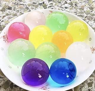 KIKAN 50 Cuentas de Agua mágicas Grandes Orbeez con Bola Grande de Cristal, Multicolor, 12 mm