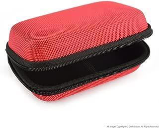 FiiO M3 X1 X3 X5 X7, Sony NWZA17 NW-ZX100, Creative E1 E3等対応ケース キャリングケース バッグ (赤)