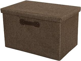Ménage Multi-fonction Boîte De Rangement En Tissu De Rangement Pliant Organisateur Avec Couvercle Convient For Armoires Bo...