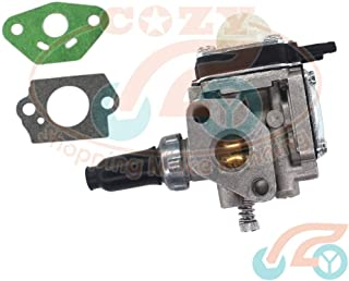Corolado Spare Parts, Carburetor & Gasket for Trimmer Bushcutter Kawasaki Th43 Th48 Weed Eater Carb
