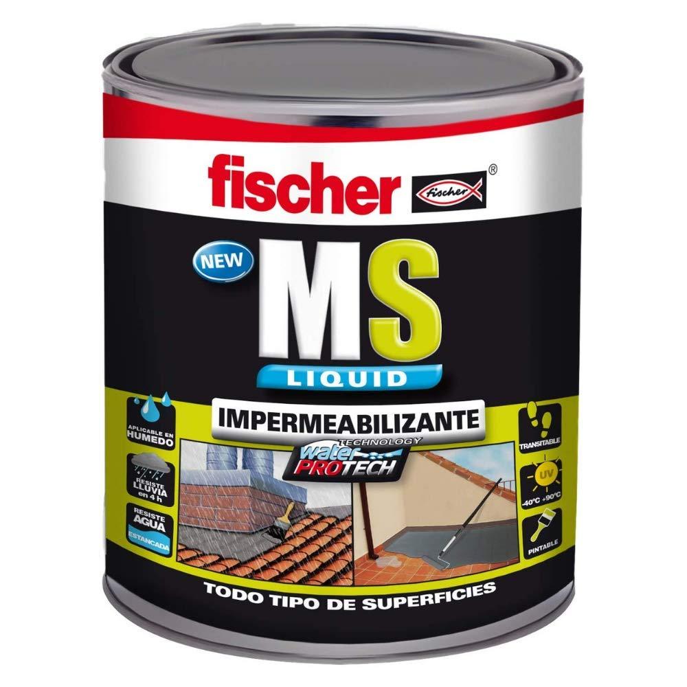 Fischer 534616 Impermeabilizante, Marrón/Teja, MS Liquido 1 Kg Marron: Amazon.es: Bricolaje y herramientas